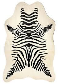 faux zebra skin rug faux zebra hide rug faux animal skin rugs uk