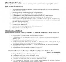 Communications Specialist Resume Communications Specialist Resume Example Templates Marketing Sample 18
