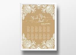 wedding seating chart poster template free wedding seating chart poster diy editable powerpoint