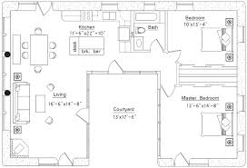 U-shaped House (click to enlarge)