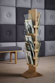 accessories contemporary magazine rack shelves with standing