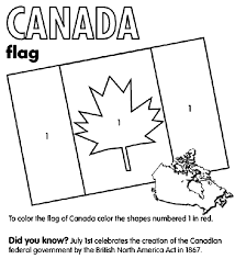 Small Picture Canada Flag Coloring Page crayolacom