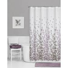 brown fabric shower curtains. Amazon Com Maytex Sylvia Printed Faux Silk Fabric Shower Curtain Brown Curtains