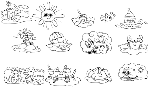 Small Picture Summertime Coloring Pages For Toddlers Coloring Pages