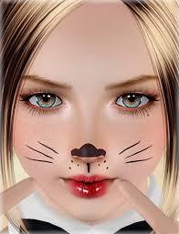 cool bunny makeup