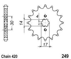 Honda Grom Sprocket Chart Sprocket Front Plus 1 Tooth Jt Check Chain Length Ac0887