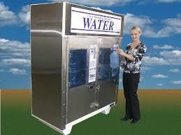 Window Water Vending Machine Impressive Water Vending Machines Water Store Equipment