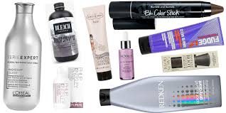 Fudge Hair Dye Colour Chart The Best Products For Grey Hair