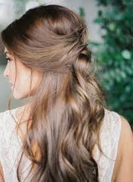 Femina Cheveux 25 Demi Queues Repérées Sur Pinterest
