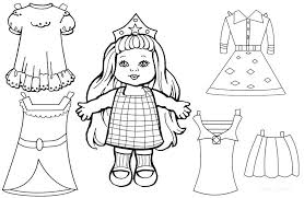 Free American Doll Coloring Pages Doll Coloring Sheets Related Post