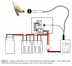 appendix iv wiring schematic for an automated frog call data logger click to