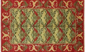 William Morris Rug Designs 5 X 8 Arts And Crafts William Morris Design Area Rug P5010