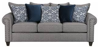 simmons albany pewter sofa. simmons upholstery emma slate queen sleeper transitional-sleeper-sofas albany pewter sofa