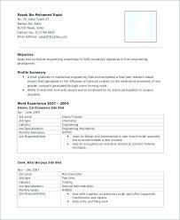 Civil Engineer Resume Template Engineering Resume Template Civil ...
