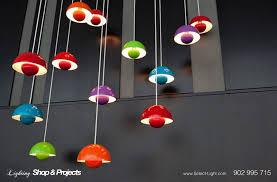 flower pot lamp by verpan