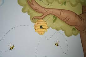 wwwjoansmuralscom baby nursery cool bee
