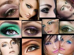 eyeshadow and subtle cat eye eyes hazel dark or um brown the colour wheel have you