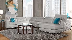 furniture to go. sofia vergara sorrento platinum 4 pc sectional furniture to go
