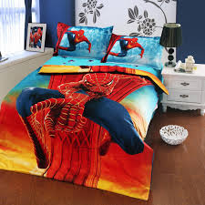 Kids Furniture, Spiderman Bedroom Set Spiderman Room Decor Ideas New Spiderman  Bedding TWIN FULL SIZE ...