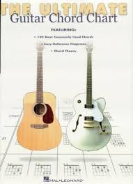 Ultimate Guitar Chord Chart Ii Ultimate Guitar Chord Chart By Hal Leonard Publishing Company