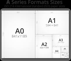 Paper Size Chart Pdf Paper Size Chart Print City