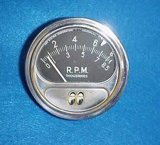 vintage sun tach vintage sun tach tachometer chevy ford 8500 rpm rc hot rat rod gasser drag
