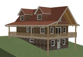 cabin house plans with walkout basement best of basement cabin floor plans with walkout basement of
