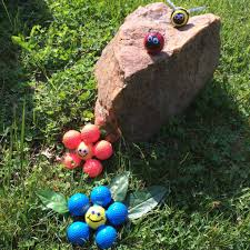 Golf Ball Decorations GOLF BALL Garden Decorations 60 Steps with Pictures 12