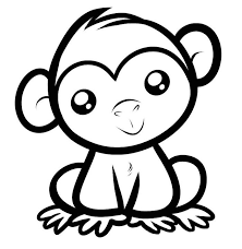 Small Picture Bold Inspiration Baboon Animal Coloring Pages Printable Coloring
