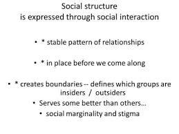 Pattern Of Interaction Best Social Structure And Social Interaction Ppt Video Online Download