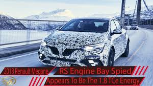 2018 renault megane rs specs.  renault 2018 renault megane rs engine bay spied appears to be the 1 8 tce energy for specs