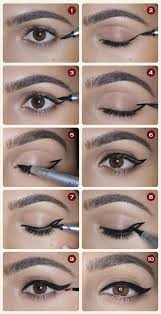 winged eyeliner 12 diffe eyeliner tutorials you ll be thankful for makeup tips