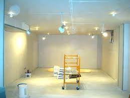 painting basement walls ideas unfinished color wall covering cement concrete
