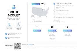 Dollie Mosley, (414) 988-4384, 1344 W Atkinson Ave, Milwaukee, WI ...