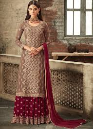 Stylish Plazo Suit Design Party Wear Designer Palazzo Suit At Best Price Ever