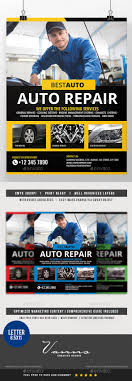 car fix service flyer by artchery graphicriver car fix service flyer commerce flyers