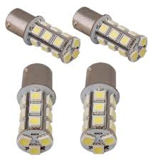 Rv Interior Light Bulb Replacement 4 Pcs Ba15s Led Bulb Replacement For 1141 1156 Rv Tail
