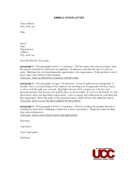 Cover Letter Without Contact Name The Letter Sample
