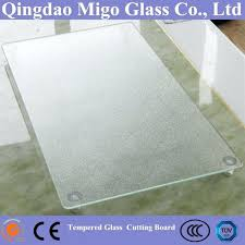 tempered glass cutting board chopping large clear 3