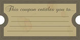 Printable Coupon Templates Download Them Or Print