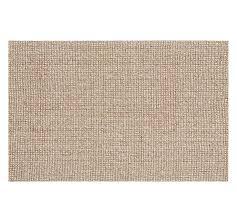 jute rugs chunky wool jute rug natural pottery barn