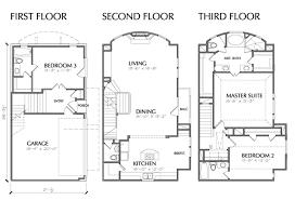 3 Story Home Plans  Home Planning Ideas 2017Three Story Floor Plans