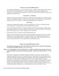 Annotated Bibliography Mla Format Template Example Pdf Apa