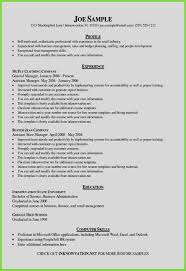 Unique Sample Resume In Word Format Free Downloadable Resume