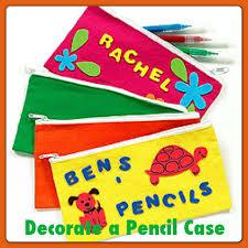 Decorate Pencil Case Decorate A Pencil Case