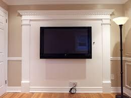 mounting plasma tv over brick fireplace awful