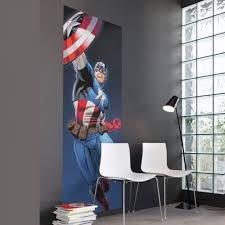 Marvel Wallpaper For Bedroom Captain America Bedroom