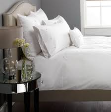 white pintuck duvet set