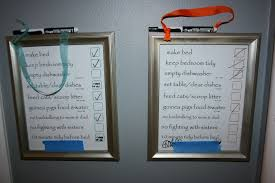 Wipe Off Chore Chart Write On Write Off Chore Charts For Kids Pinterest