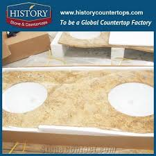 china building hgj032 kashmir golden flat standard laminated precut size decorative heat resistant table tops options for countertops vanity top